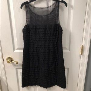 BCBG Black Lace Dress